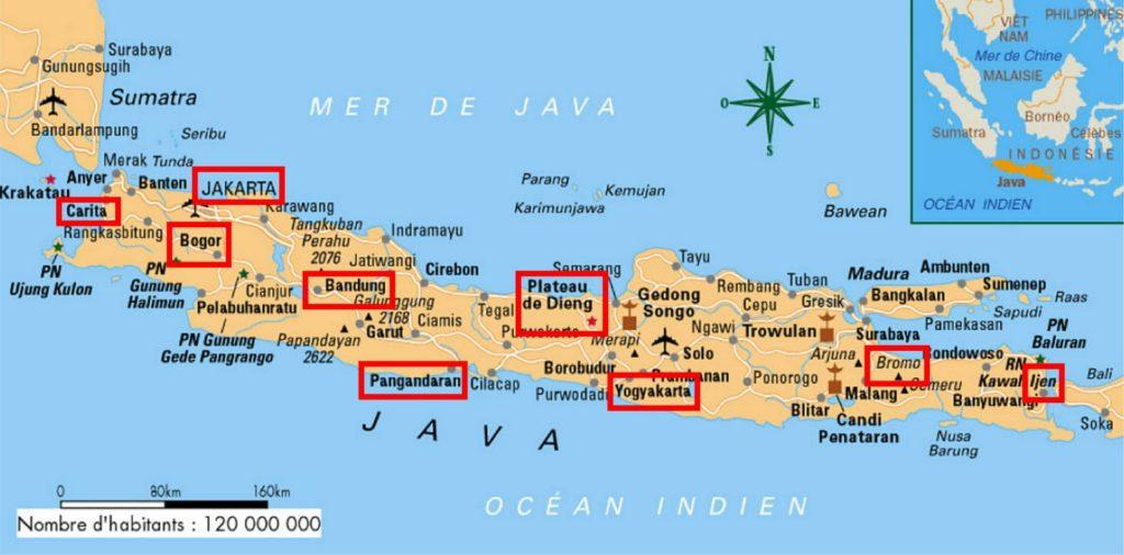 java island maps