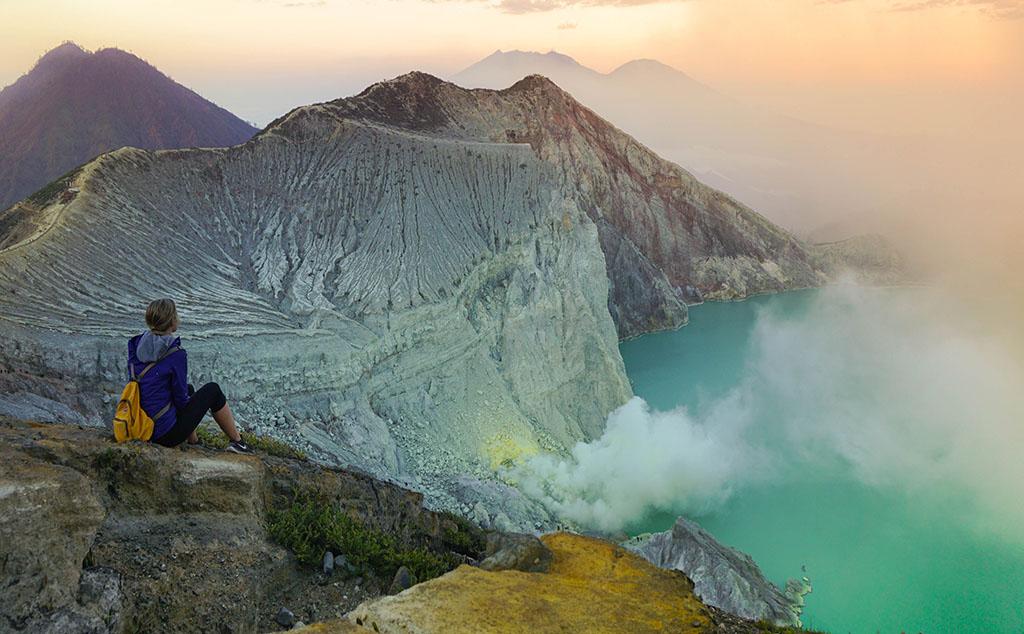Kawah Ijen Banyuwangi, indonesia kawah ijen