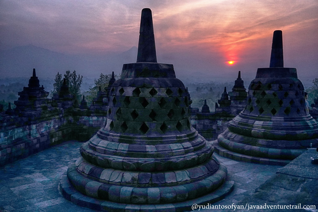 Sunset Borobudur Tour Package - Java Adventure Trail