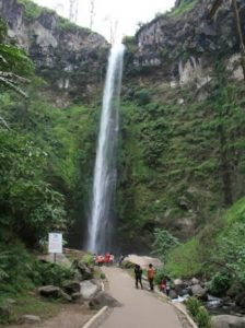 coban rondo waterfall in batu malang