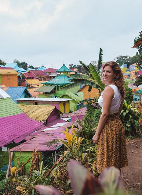 jodipan malang, kampung warna warni malang