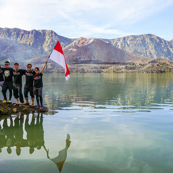 mount rinjani national park