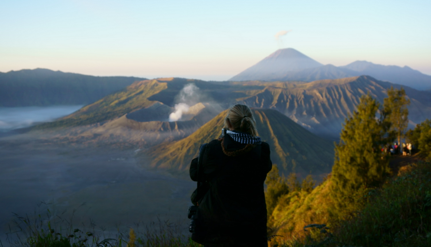 bromo from sunrise point