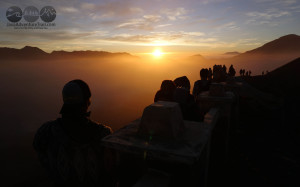 Sunrise at Mt. Bromo