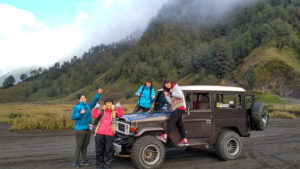 jeep in bromo