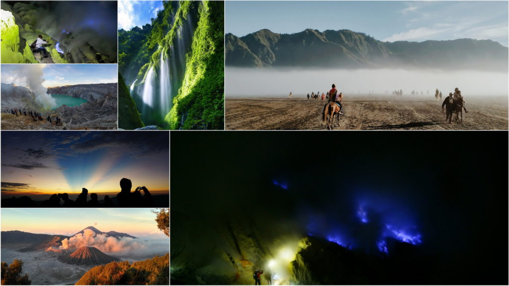 SURABAYA – MADAKARIPURA WATERFALL – MOUNT BROMO – IJEN BLUE FIRE TOUR - BALI