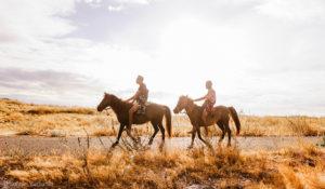 horse riders in puru kambera