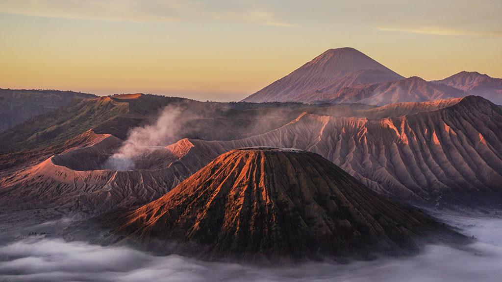 bromo volcano java island