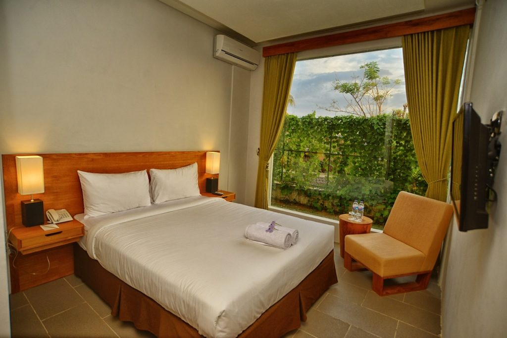 room in the blambangan hotel