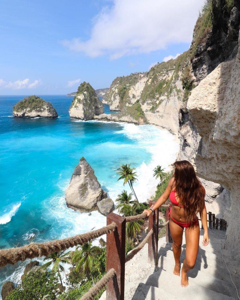 atuh beach, nusa penida island