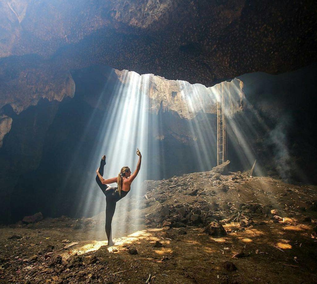 Bangkang cave in lombok