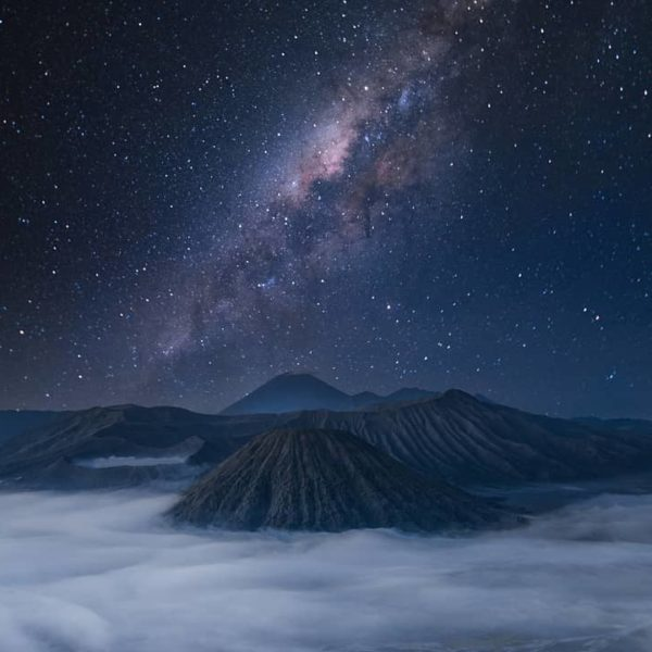 Trailing Light Mount Bromo