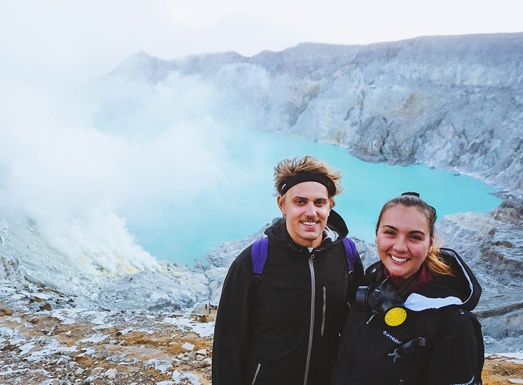 mount ijen, east java