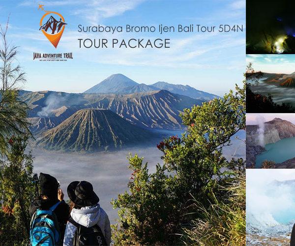Surabaya Bromo Ijen Bali Tour 5D4N