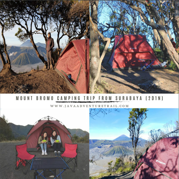 Mount Bromo Camping Tour Package 2D1N From Surabaya