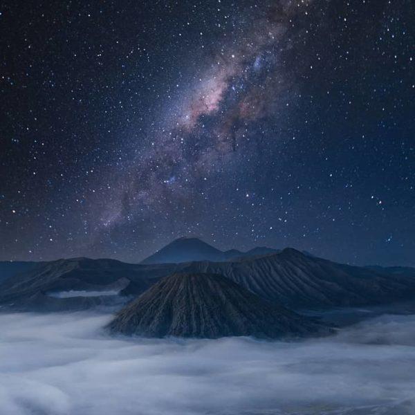 Trailing Light Mount Bromo