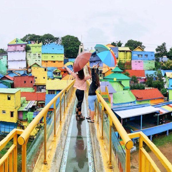 jodipan malang, rainbow village east java