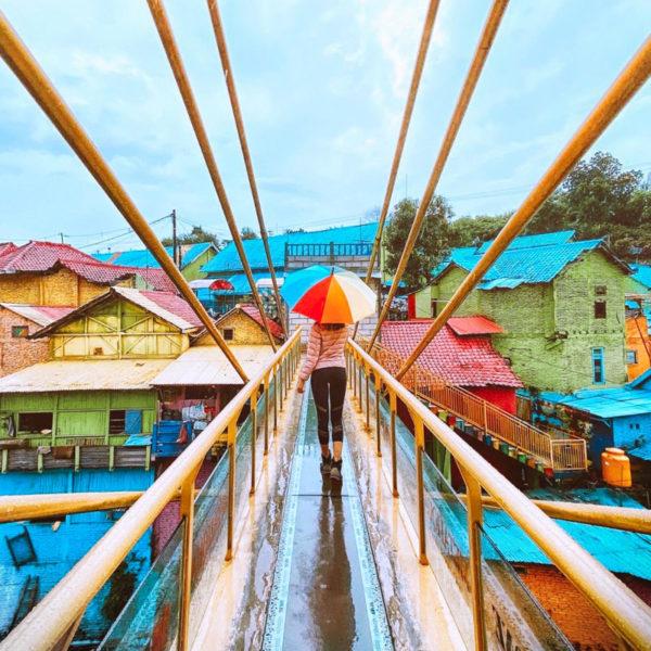 rainbow village malang, jodipan