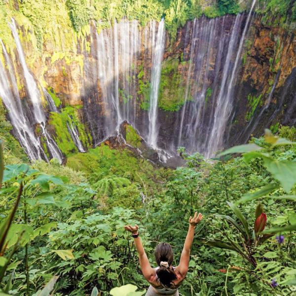 tumpak sewu tour, tumpak sewu waterfall